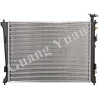 Quality Nissens 66778 Aluminium Kia Forte Radiator 10-12 AT 13132 13133 OEM 25310-1M100/1M120 for sale