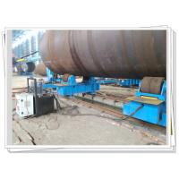 Buy cheap Pipe Growing Line Used Hydraulic Fit Up Turning Roll 200T Bridge Pile Job from wholesalers