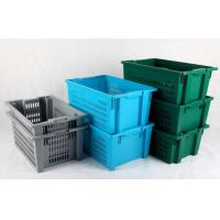 Buy cheap Transport Plastic Turnover Basket For Fruits and Vegetables products product
