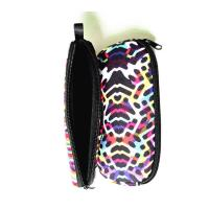 Buy cheap Portable Travel Zipper Soft Neoprene Sunglasses bag.SBR Material. Size is 19cm*8.7cm. product