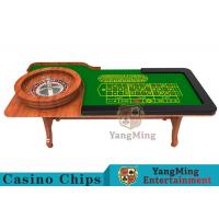 Buy cheap Wooden Collapsible Casino Card Table With Flame Retardant Tablecloth product