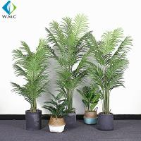 Buy cheap Palm Bamboo Fake Bonsai Tree For Room Garden Building Landscaping R020005 product