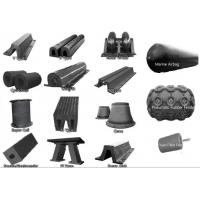 Buy cheap French Warships Rubber Elements Marine Rubber Fender for Dock , CCS ISO 17357 product