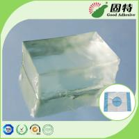 Buy cheap Colorless Block PSA Hot Melt Adhesive For Baby Paper Diaper Sanitary Mat product