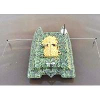 Buy cheap Remote Control Catamaran Bait Boat DEVC-308M3 camouflage ABS Engineering product