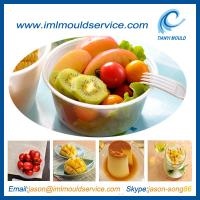 Buy cheap injection moulding of 450ml plastic soup bowl and container for thin wall product