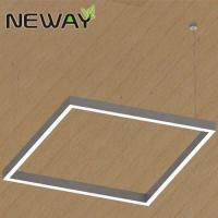Buy cheap LED Square 400x400 500x500 1000x1000 Linear Suspension Pendant Light Fixture Commercial Architectural Hanging Lighting product