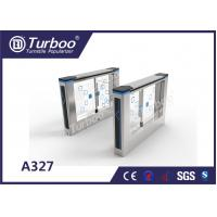 Buy cheap Compact Design Office Security Gates , Stainless Steel Swing Gate Turnstile product