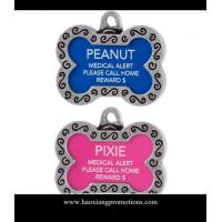 Buy cheap 2015 Blank Coated Dog Tag in Bone Shape for Sublimation Cute Design/ Dog Id Tag dog card product