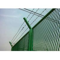 Buy cheap Anti Theft Electro Barbed Wire Mesh Fence Coil With 7.5-15cm Spacing product