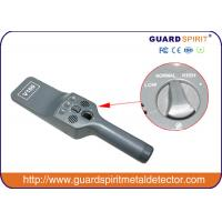 Buy cheap ultra-high sensitivity hand held Mini metal detector , security body scanner for airport product