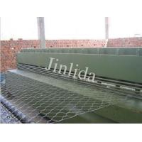 Buy cheap 4300mm Automatic Wire Netting Gabion Mesh Cutting Machine , Max Diameter 4.0mm product