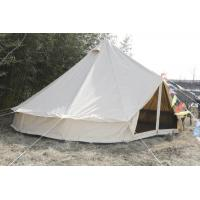 Buy cheap White Canvas Yurt Tent / Cotton Bell Tent For Hiking Equipment product
