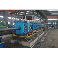 Buy cheap Full Automatic ERW Steel Pipe Production Line HG140 Square Shape Adjustable Size product