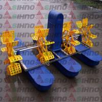 Buy cheap High Efficiency Fish Shrimp Prawn Farming Pond Paddle Wheel Aerator product