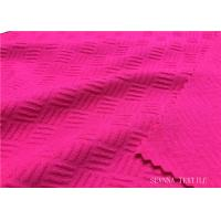 China Brushed Activewear Knit Fabric Excellent Coverage Hydrophilic Intensive on sale