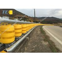Buy cheap Outdoor Safety Roller Vehicular Impact Guardrail Orange Yellow Red Green Color from wholesalers