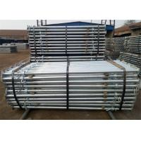 Buy cheap Steel Telescopic Props Scaffolding  Shoring Acrow Prop For Slab Formwork Supporting product