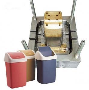 Buy cheap Bonne qualité et moulage par injection en plastique des prix bon marché pour la poubelle de poubelle de déchets product