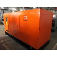Buy cheap 125KVA 1500RPM Silent Diesel Generator 4 Pole , Silent Electric Generator product