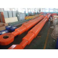 Buy cheap Steel Electric Hydraulic Cylinder Single Acting Hydraulic Piston Cylinder product