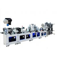 Buy cheap CE Standard N95 Mask Making Machine 9750*3500*2000mm Smooth Operation product