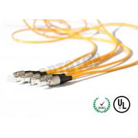 Buy cheap 1F Zip 2mm Fiber Optic Patch Cord Corning Cable 7m Length With Single Mode product