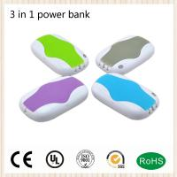 Buy cheap Muilti-Color 4000mah Portable Charger Power Bank Built-in USB cable mobile phone Charger product