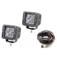 "Buy cheap 4D 3"" Pods Vehicle LED Work Lights 12 Volt - 24 Volt 2 X 2 16W 6000k product"