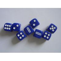 China Promotional unique acrylic material custom printed gaming roleplaying dice sets on sale
