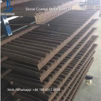 China China Low Price Stone Coated Metal Roof Tile / Roof Shingle / Decras Roofing Sheet on sale