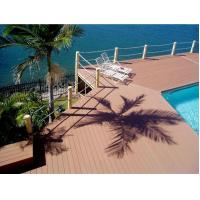 Buy cheap Outdoor Decking Flooring Backyard Pools WPC Composite Decking product