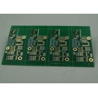Buy cheap High TG Four Layer Matt Green FR4 PCB Board Immersion Gold Finish White Silkscreen product