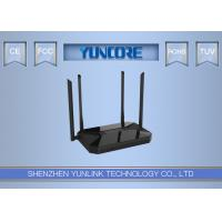 Buy cheap 1200Mbps Gigabit Dual Band Wireless Router , 11ac Wifi Router MU - MIMO Support Beamforming Tech product