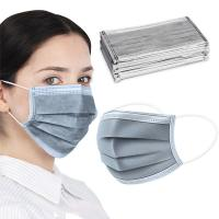 Buy cheap Light Weight Activated Carbon Dust Mask Grey Color 25 + 35 + 25 + 25 GSM product