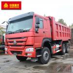Buy cheap 6x4 Tipper Truck / Howo 6x4 Dump Truck ABS Service Brake 336hp Power product