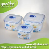 Buy cheap 3pcs Airtight Food Grade Plastic Home Containers for Food Storage Wholesale product