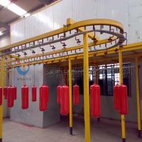 Buy cheap Complete Powder Coating Line Powder Coating System For Fire Extinguisher product