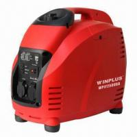 Buy cheap Inverter Generator with 2.2kVA Rated Output Power, 125cc Displacement and Low Noise product