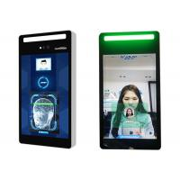 Buy cheap IPS LCD Screen Face Recognition Access Control System 8 Inch Full Viewing Angle product