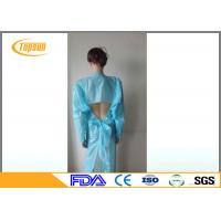 Buy cheap Disposable Surgical CPE Gown With Open Cuff For Laboratory / Food Industry product