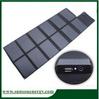 China 120w foldable solar panel, portable solar panel kits with high Eff. solar panel for hot selling on sale