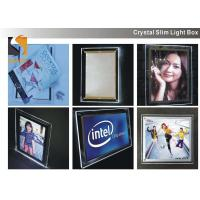 Quality A3 Acrylic Advertising Light Box Display , Illuminated Menu Boards For Restaurants  for sale
