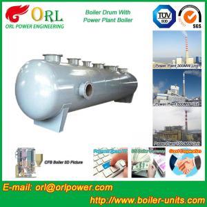 Buy cheap Stainless Steel Boiler Mud Drum , Boiler Steam Drum SGS High Efficiency product