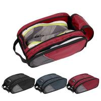 Buy cheap Portable Waterproof Breathable Travel Shoes Bag For Promotional product