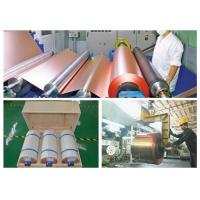 Buy cheap 25um High Conductivity Ed Copper , ​High Temperature Resistance Copper Foil Roll product