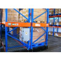 Warehouse Powered Mobile Racking , 10 Meters Height Movable Racks Storage For Freezers