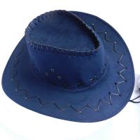 Buy cheap Child And Adult Suede Cowboy Outdoor Boonie Hat , Waterproof Promotional Bucket Hats product