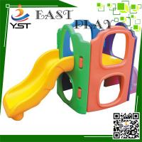 Buy cheap Cute Kindergarten Toddler Playset With Slide Plastic Paradise Material product