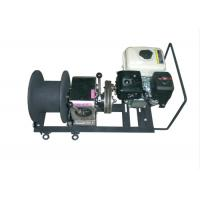 Buy cheap Gasoline Engine Small Cable Pulling Winches for Power Construction product